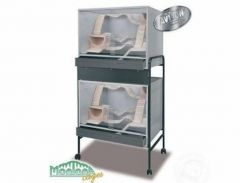Stand Double pour Viva 80 choco/vanille
